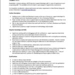 Resume Format For 2 Year Experienced It Professionals