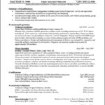 Resume Format For Experienced It Professionals Pdf