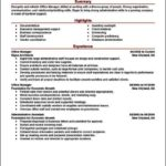 Resume Office Manager Example