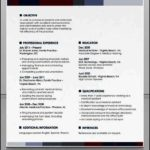 Resume Templates For Openoffice Free