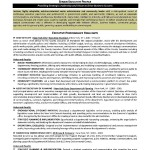 Resume Templates For Senior Executives