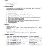 Resume Templates Open Office Free Download