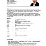 Sample Of An Academic Resume