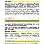 Sample Resume For Automobile Sales Executive