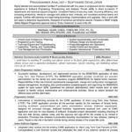 Software Professional Resume Samples