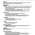 Stores Executive Resume