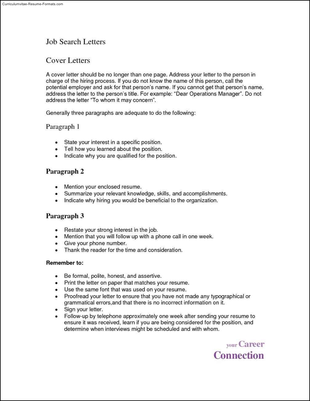 1 Page Resume Template Word Free Samples Examples
