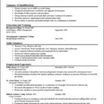 A Good Resume Template