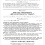 Accounting Resumes Templates