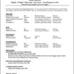 Actor Resume Templates