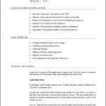 Australian Resume Template Free