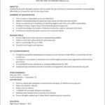 Automotive Technician Resume Template