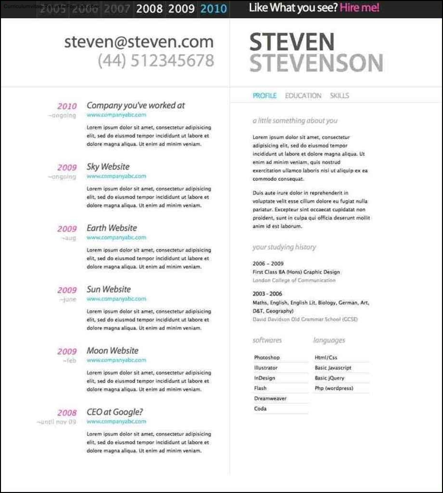 Beautiful Resume Templates Free Samples Examples