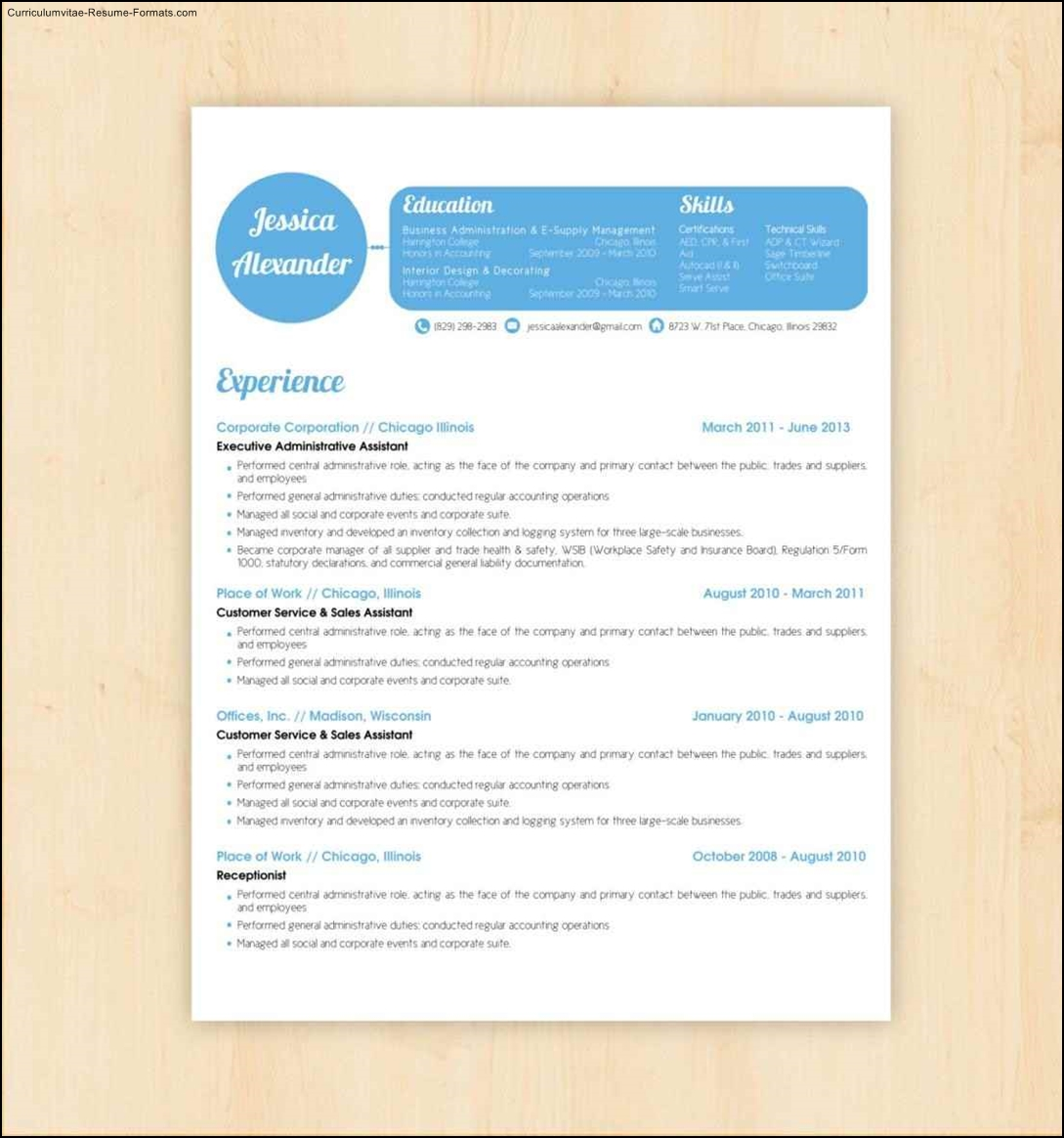 best resume design templates
