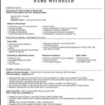 Build Resume Template