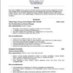Canadian Resume Template