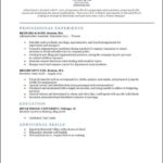 Classic Resume Template Download