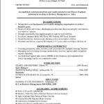 College Grad Resume Template