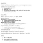 College Graduate Resume Template