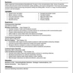Communication Resume Templates