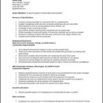 Construction Superintendent Resume Templates