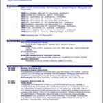 Copy And Paste Resume Template