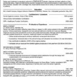 Dental Hygiene Resume Template