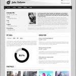 Digital Resume Template