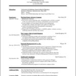 Download Resume Templates For Microsoft Word 2010