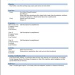 Download Resume Templates Word 2010