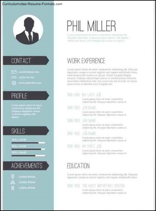 Editable Resume Template Free Samples Examples