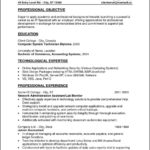Entry Level Job Resume Templates