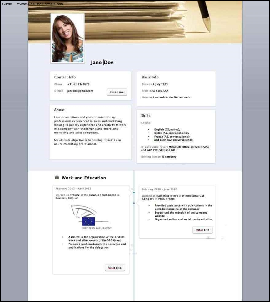 facebook resume template resume template free samples examples 21652