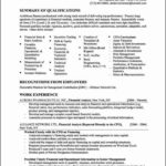 Financial Resume Templates