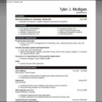 Find Resume Templates Word 2007