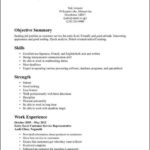 Free Entry Level Resume Template