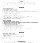 Free General Resume Template