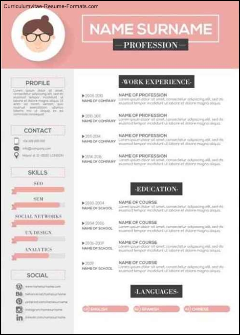 resume templates modern free modern resume templates free samples 24466 | Free Modern Resume Templates Download