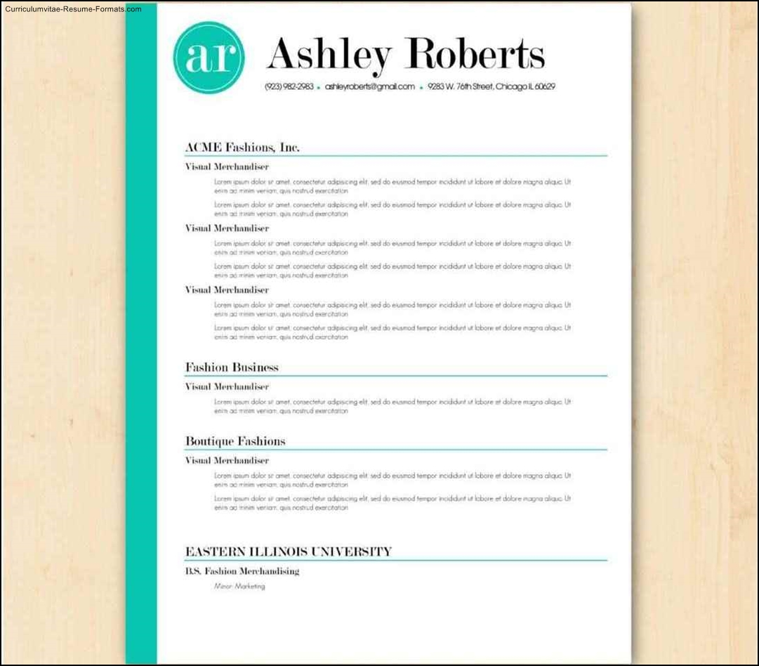 free resume templates australia download