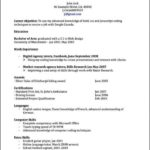 Free Resume Templates Canada