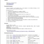 Free Resume Templates For Open Office