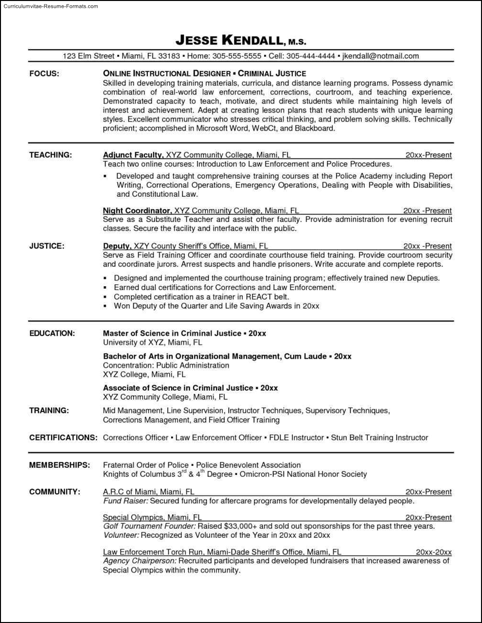 free resumes templates online - Online Free Resume Template
