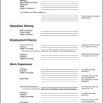 Free Resumes Templates To Print