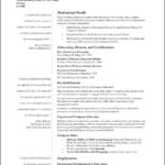 Free Teaching Resume Template