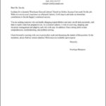 General Resume Cover Letter Template