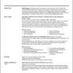 How To Write A Resume Template Free