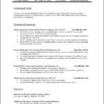 sample professional resume template professional resume format