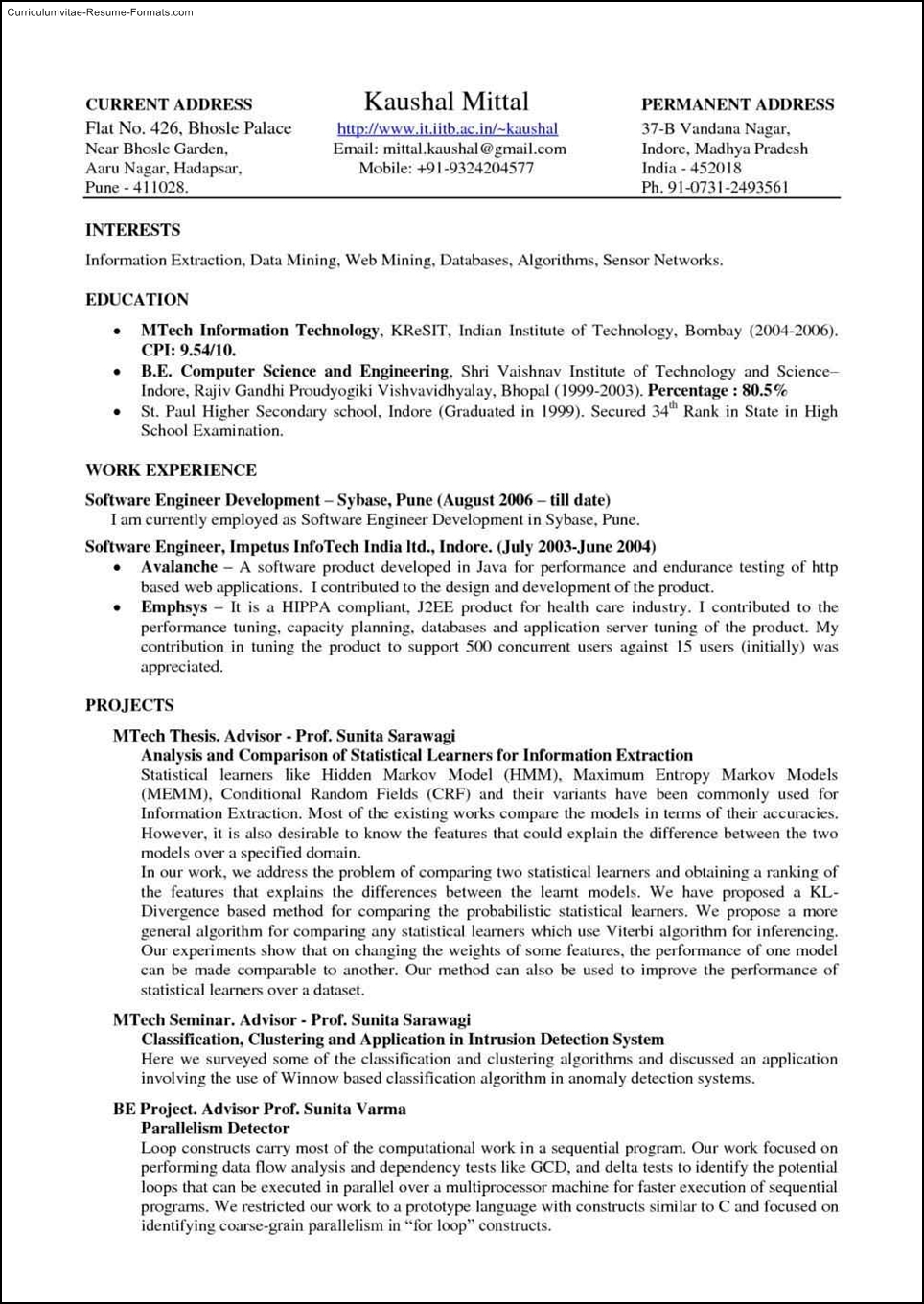 latex resume template academic cv 12 resume vikas rana school of