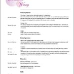 Makeup Artist Resume Templates