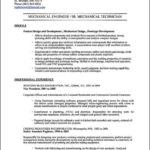Mechanical Engineering Resume Template
